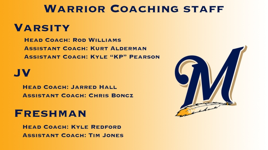 Warrior Coaching Staff
